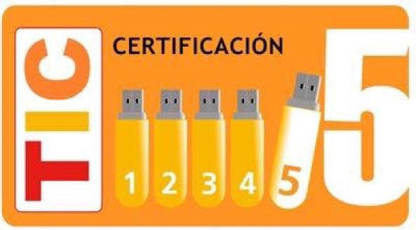 CERTIFICACIÓN TIC  -  NIVEL 5  Consejería de Educación de Castilla y León.